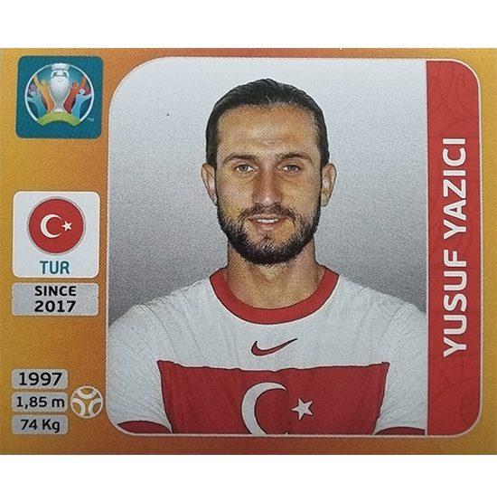 Panini EURO 2020 Sticker Nr 080 Yusuf Yazici