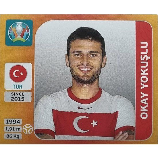 Panini EURO 2020 Sticker Nr 081 Okay Yokuslu