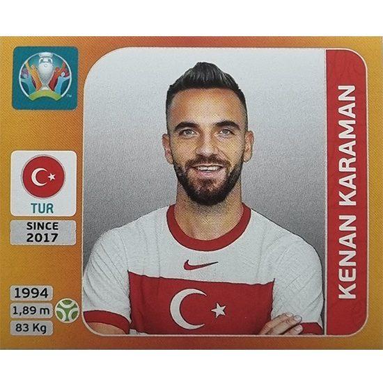 Panini EURO 2020 Sticker Nr 082 Kenan Karaman