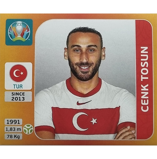 Panini EURO 2020 Sticker Nr 083 Cenk Tosun