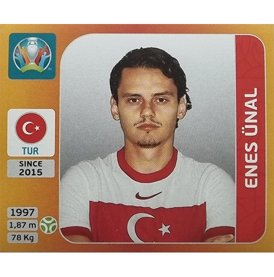 Panini EURO 2020 Sticker Nr 084 Enes Ünal
