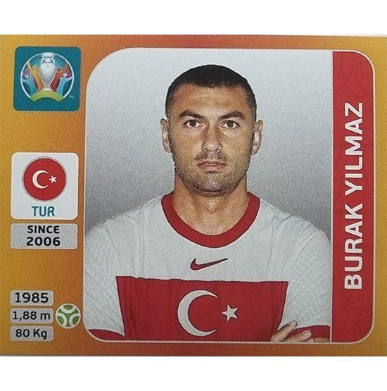 Panini EURO 2020 Sticker Nr 085 Burak Yilmaz