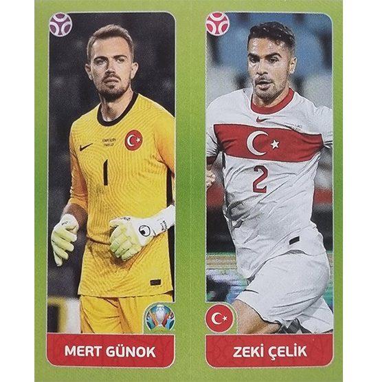 Panini EURO 2020 Sticker Nr 086 Günok Celik