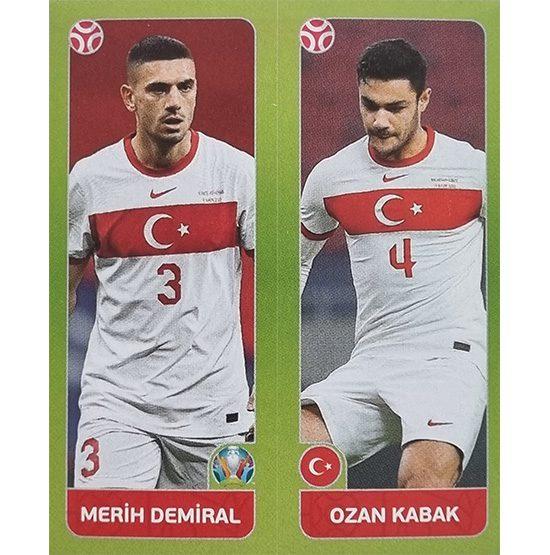 Panini EURO 2020 Sticker Nr 087 Demiral Kabak