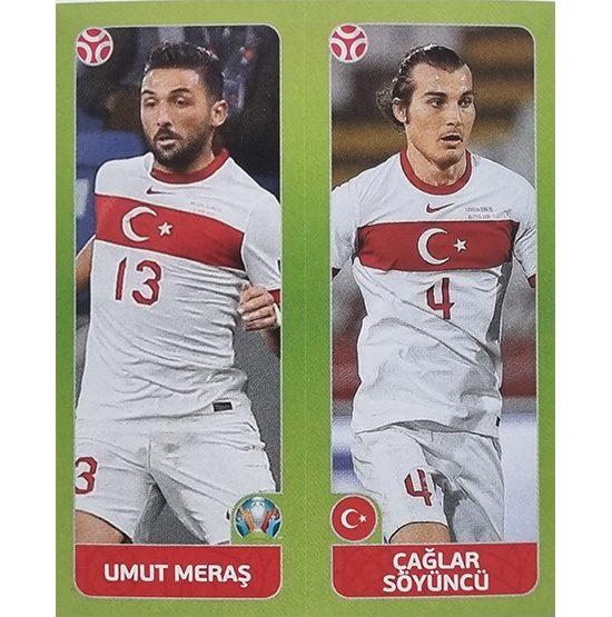Panini EURO 2020 Sticker Nr 088 Meras Söyüncü