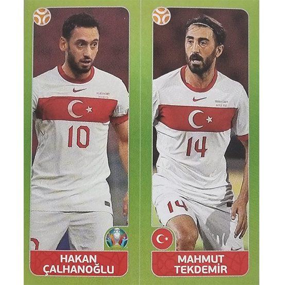 Panini EURO 2020 Sticker Nr 089 Calhanoglu Tekdemir