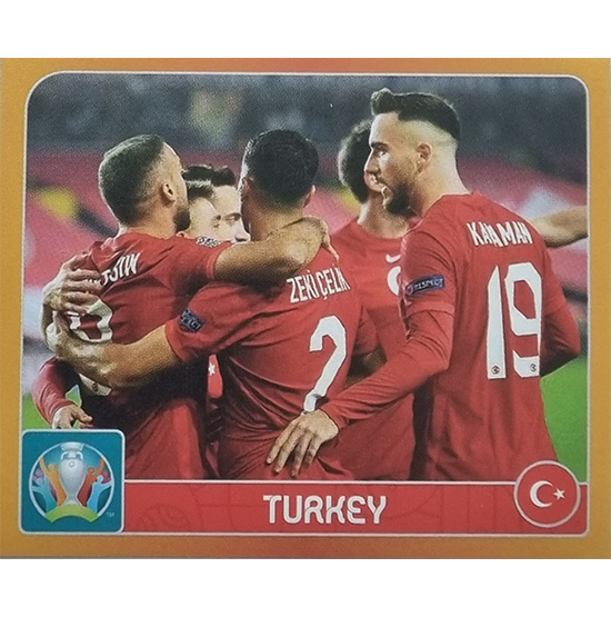 Panini EURO 2020 Sticker Nr 009 Turkey