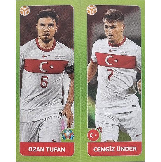 Panini EURO 2020 Sticker Nr 090 Tufan Ünder