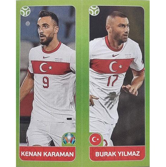 Panini EURO 2020 Sticker Nr 091 Karaman Yilmaz