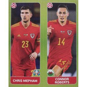 Panini EURO 2020 Sticker Nr 093 Mepham Roberts