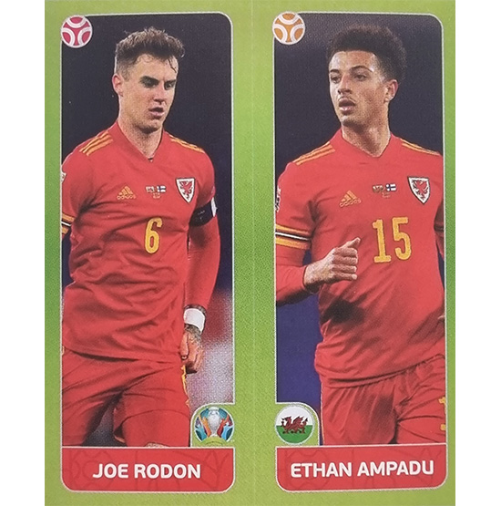 Panini EURO 2020 Sticker Nr 094 Rodon Ampadu