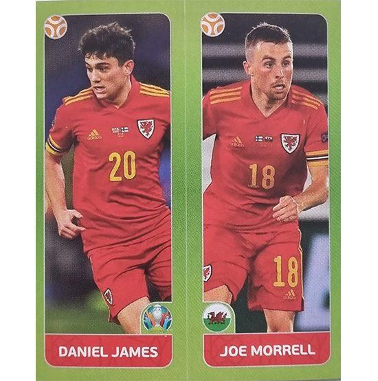 Panini EURO 2020 Sticker Nr 095 James Morrell