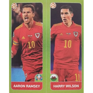 Panini EURO 2020 Sticker Nr 096 Ramsey Wilson