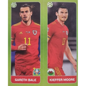 Panini EURO 2020 Sticker Nr 097 Bale Moore