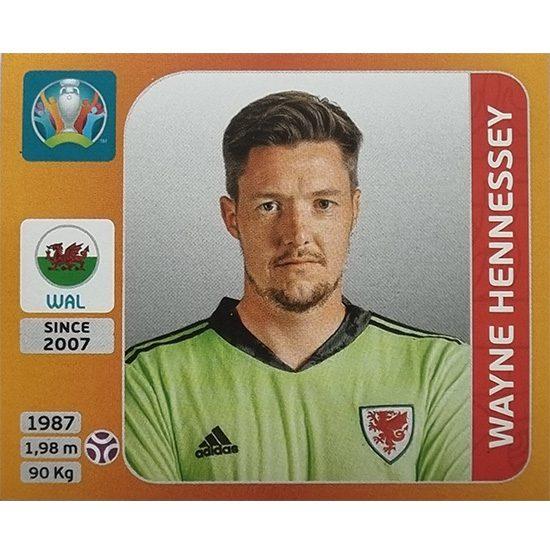 Panini EURO 2020 Sticker Nr 099 Wayne Hennessey