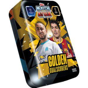 Topps Champions League Match Attax 2020/21 Mega Tin Golden Goalscorers