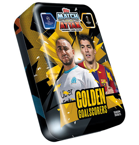 Topps Champions League Match Attax 2020/21 Mega Tin Golden Goalscorers