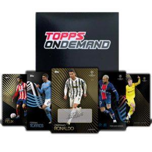Topps Champions League Knockout Set - OnDemand Box 2020/21