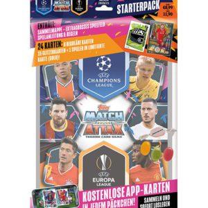 Topps Match Attax Champions League Starterpack 2020/2021