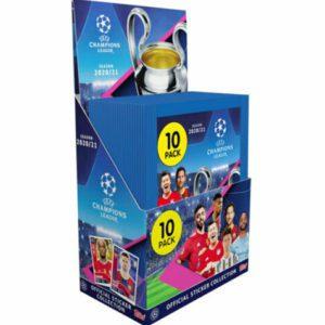 Topps Match Attax Champions League Sticker Display 2020/2021