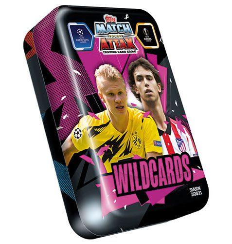 Topps Champions League Match Attax 2020/21 Mega Tin Wildcards