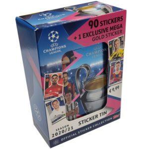 Topps Match Attax Champions League Sticker Tin 2020/2021
