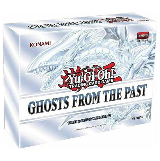 Yu-Gi-Oh Ghosts From The Past - Box je 3 Boostern 1. Auflage