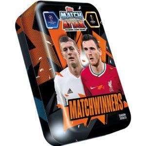 Topps Champions League Match Attax 2020/21 Mega Tin Matchwinners
