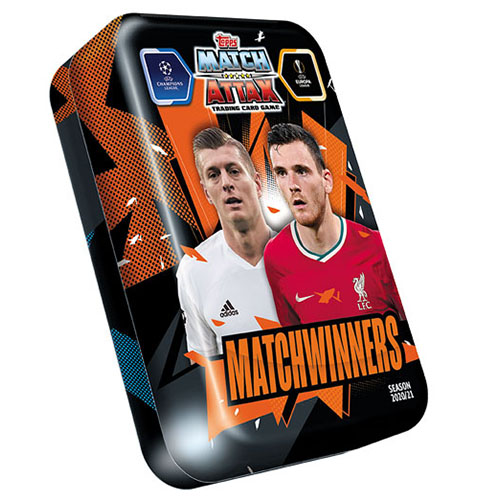 Topps Champions League Match Attax 2020/21 Mega Tin Matchwinners