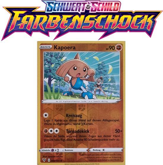 Pokémon Farbenschock Kapoera 088/185 REVERSE HOLO