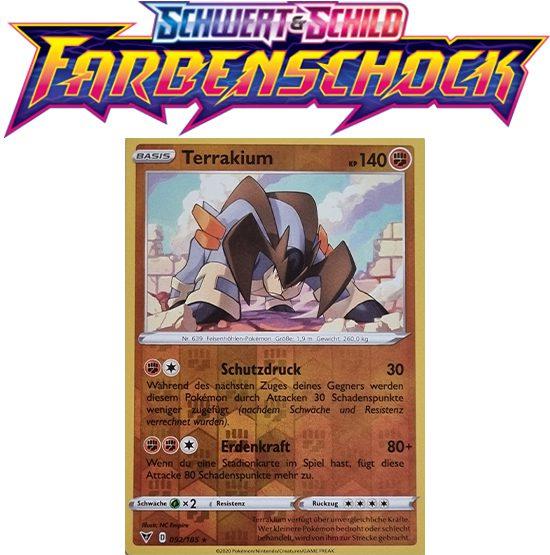 Pokémon Farbenschock Terrakium 092/185 Reverse Holo