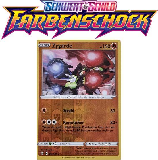 Pokémon Farbenschock Zygarde 093/185 Reverse Holo