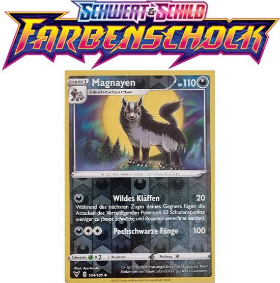 Pokémon Farbenschock Magnayen 104/185 REVERSE HOLO