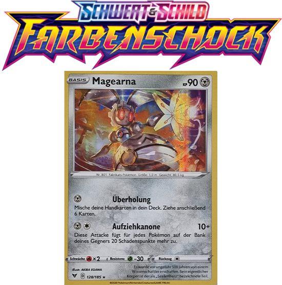 Pokémon Farbenschock Magearna 128/185 HOLO