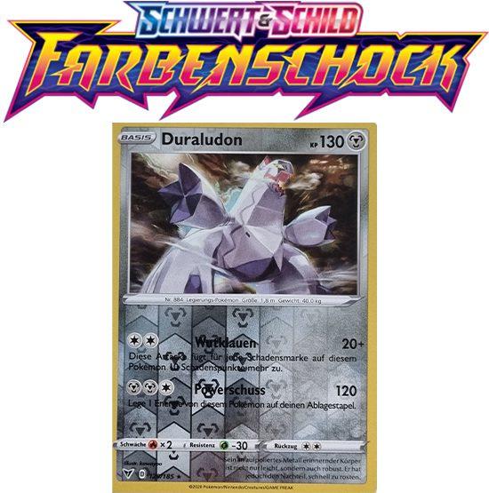 Pokémon Farbenschock Duraludon 129/185 HOLO