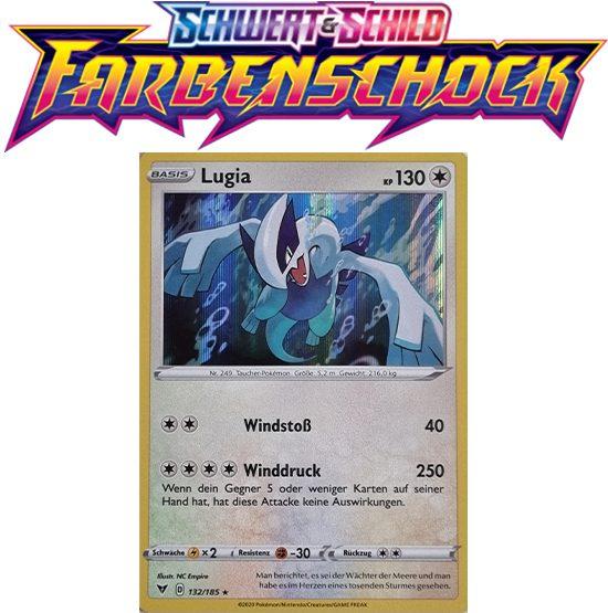Pokémon Farbenschock Lugia 132/185 HOLO