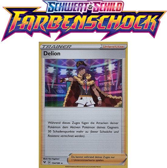 Pokémon Farbenschock Delion 154/185 HOLO
