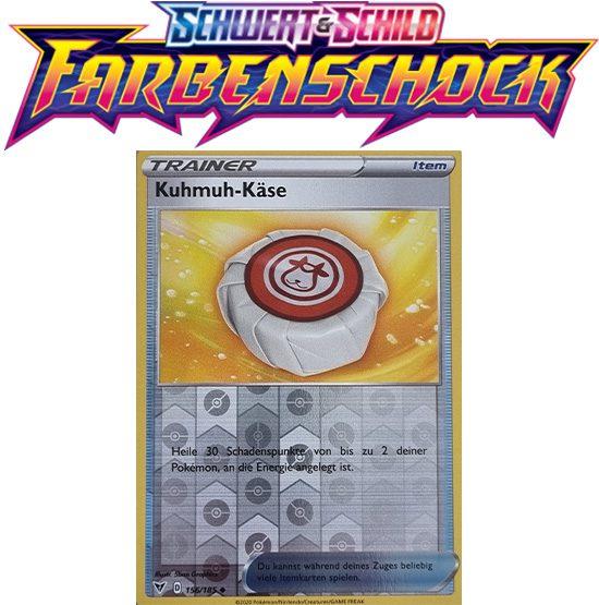 Pokémon Farbenschock Kuhmuh-Käse 156/185 REVERSE HOLO