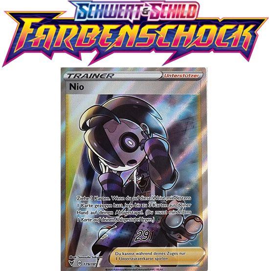 Pokémon Farbenschock Nio 179/185 FULLART