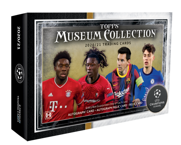 Topps Champions League Museum Collection 2020/21 Hobby Box