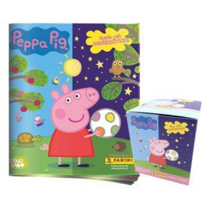Panini Peppa Pig Spiele mit Gegensätzen Sticker - Album +1x Display