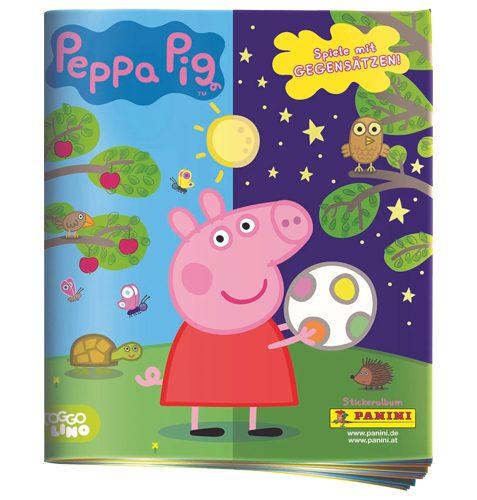 Panini Peppa Pig Spiele mit Gegensätzen Sticker - 1x Album