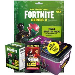 Panini Fortnite Series 2 Bundle für Einsteiger