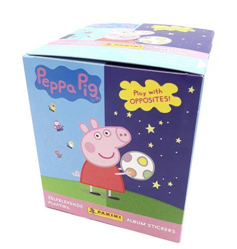 Panini Peppa Pig Spiele mit Gegensätzen Sticker - 1x Display