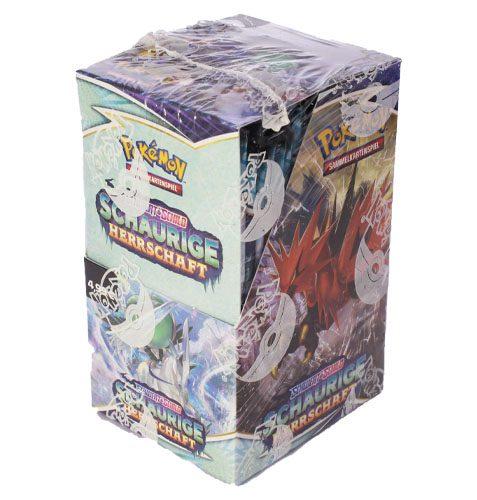 Pokémon Schwert und Schild Schaurige Herrschaft 18 Booster