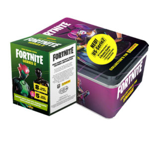 Panini Fortnite Series 2 Classic Tin + Blaster Box