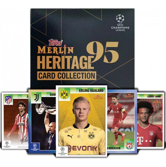 Topps Merlin95 UEFA Champions League Hobby Box 2021