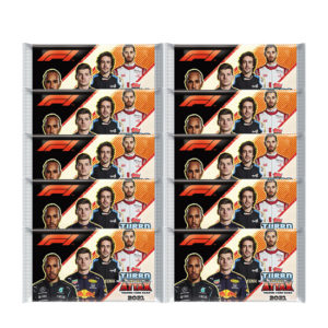 Topps Formula 1 Turbo Attax 2021 Trading Cards - 10x Booster