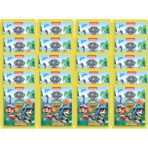 Panini Paw Patrol Dino Rescue Sticker 20x Stickertüten