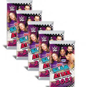 Topps WWE Slam Attax 2021 5x Booster
